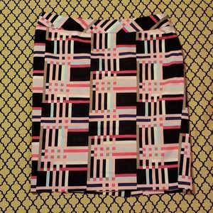 Nine West Stripe Skirt size 12